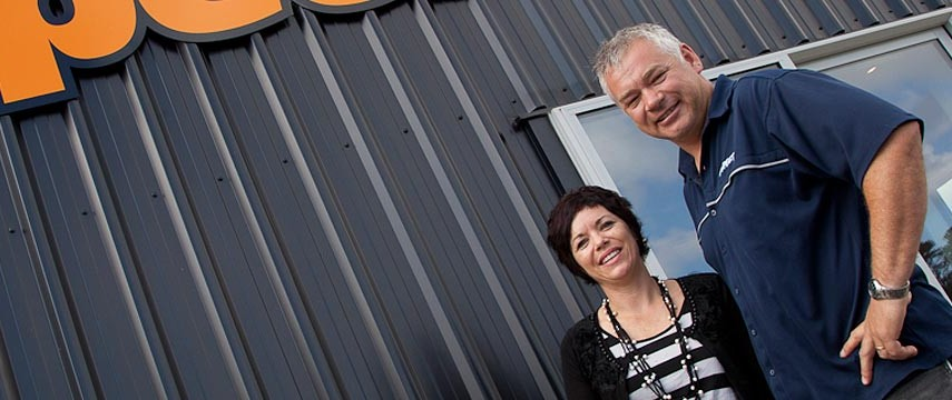 already recommended Shed Boss. - Warren and Fay Haakma, Aspect Signs